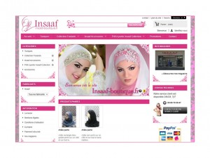 insaaf boutique Rouen E-commerce